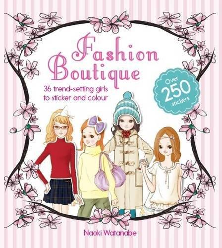 Fashion Boutique Dress Up Sticker Book  by  Kokuyo