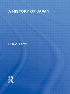 A History of Japan Hisho Saito