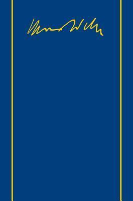 Max Weber - Gesamtausgabe: Band II/4: Briefe 1903-1905 Thomas Gerhards