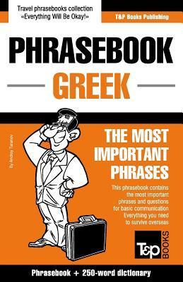English-Greek Phrasebook and 250-Word Dictionary Andrey Taranov