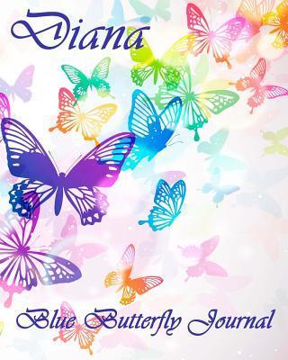 Blue Butterfly Journal - Diana Kooky Journal Lovers