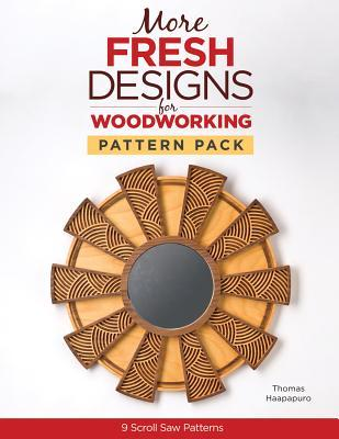 More Fresh Designs for Woodworking Pattern Pack: 9 Scroll Saw Projects  by  Thomas Haapapuro