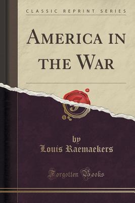 America in the War Louis Raemaekers