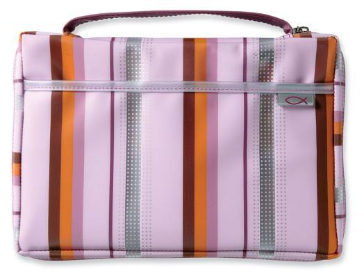Pink Lavender Sassy Stripes LG Zondervan Publishing