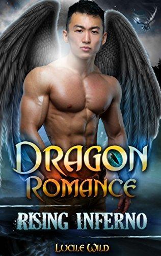 DRAGON ROMANCE: Rising Inferno (Paranormal BBW Dragon Shifter Menage Romance) (Dark Alpha Dragon Series Book 1)  by  Lucile Wild