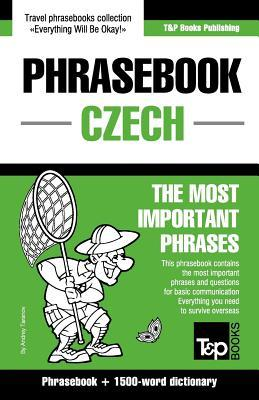 English-Czech Phrasebook and 1500-Word Dictionary  by  Andrey Taranov