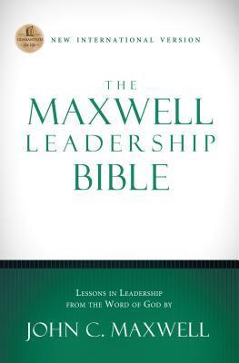 NIV, The Maxwell Leadership Bible, Hardcover Anonymous