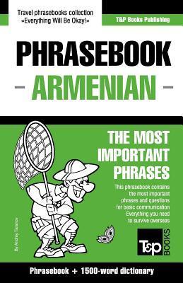 English-Armenian Phrasebook and 1500-Word Dictionary  by  Andrey Taranov