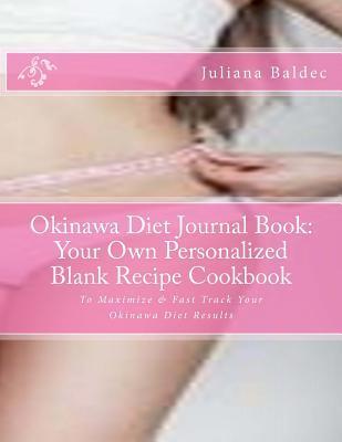 Okinawa Diet Journal Book Juliana Baldec
