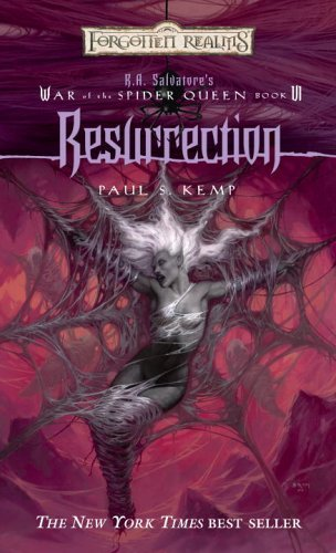 Resurrection (Forgotten Realms:  War of the Spider Queen, #6)  by  Paul S. Kemp