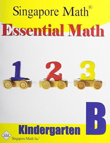 Essential Math Kindergarten B Singapore Marshall Cavendish Int (S) Pte Ltd
