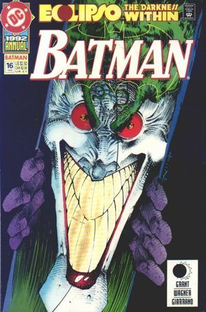 By Darkness Possessed (Batman Annual, #16) Alan Grant