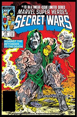 Secret Wars (1984-1985) #10 Jim Shooter