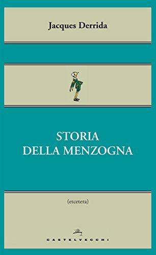 Storia della menzogna  by  Jacques Derrida