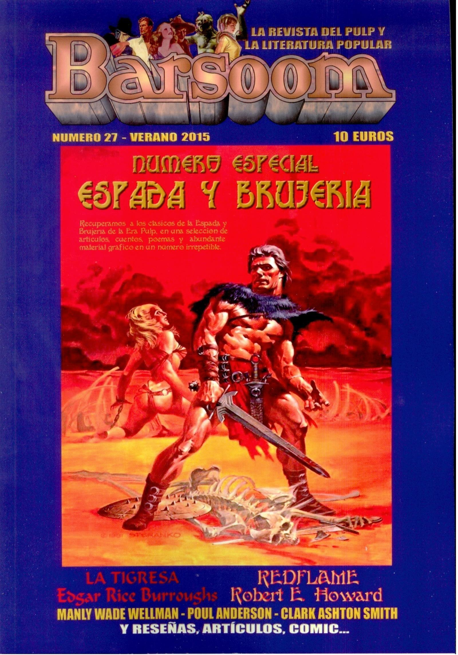 Barsoom vol. 27: Especial Espada y Brujería  by  Barsoom