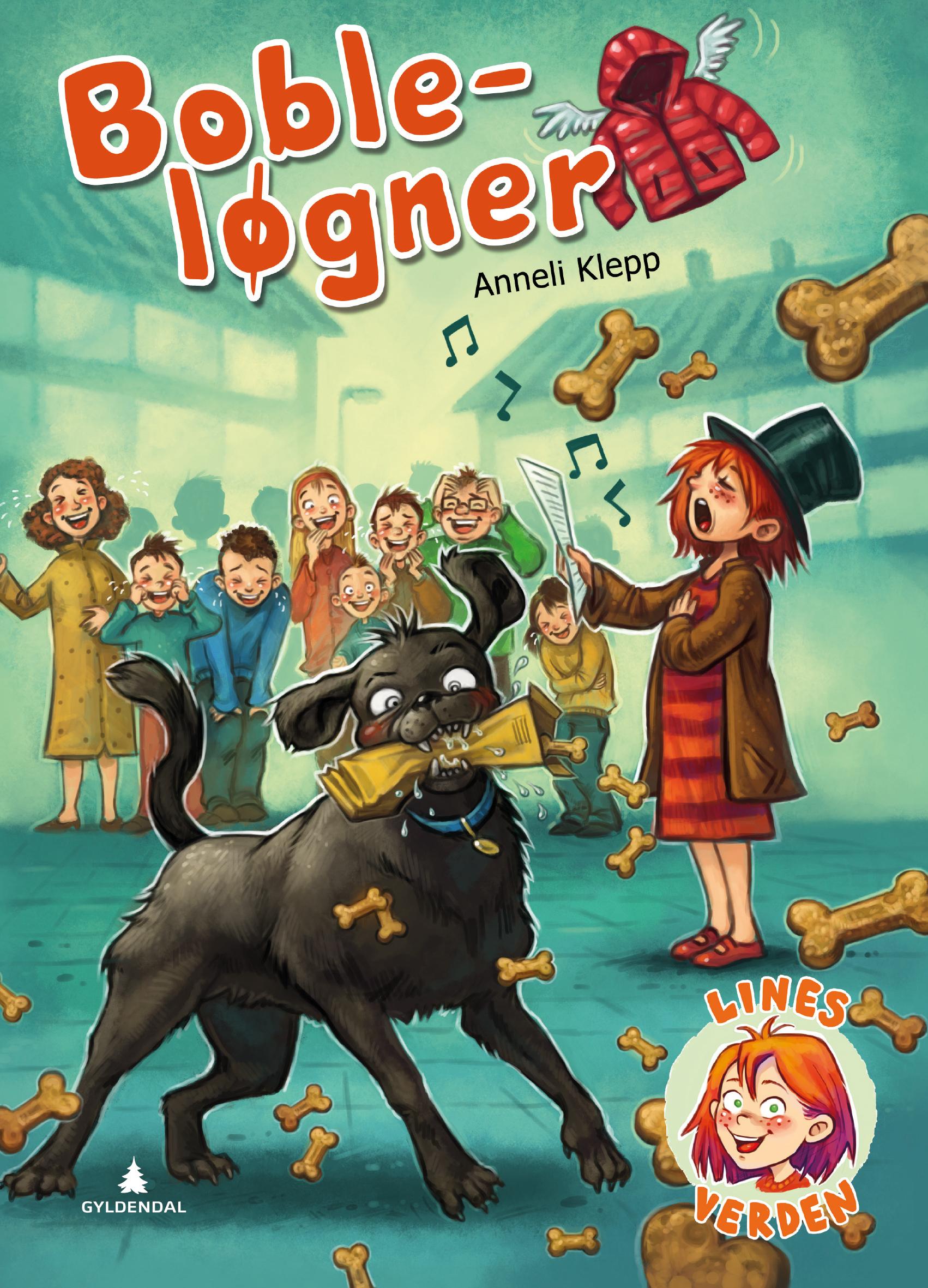 Boble-løgner (Lines verden, #3)  by  Anneli Klepp