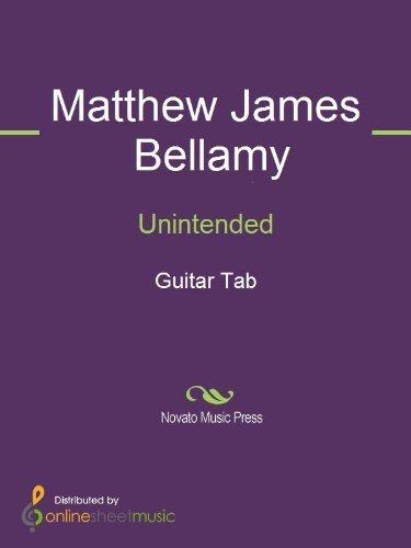 Unintended Matthew James Bellamy