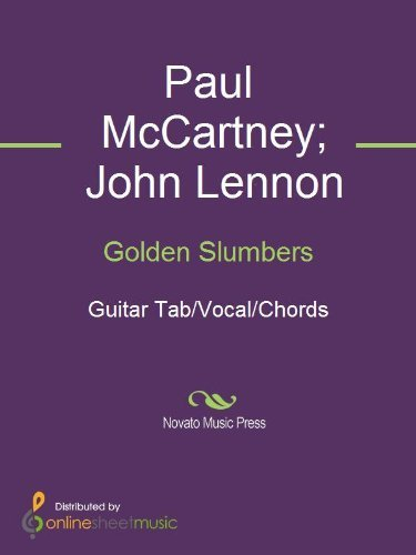 Golden Slumbers  by  John Lennon