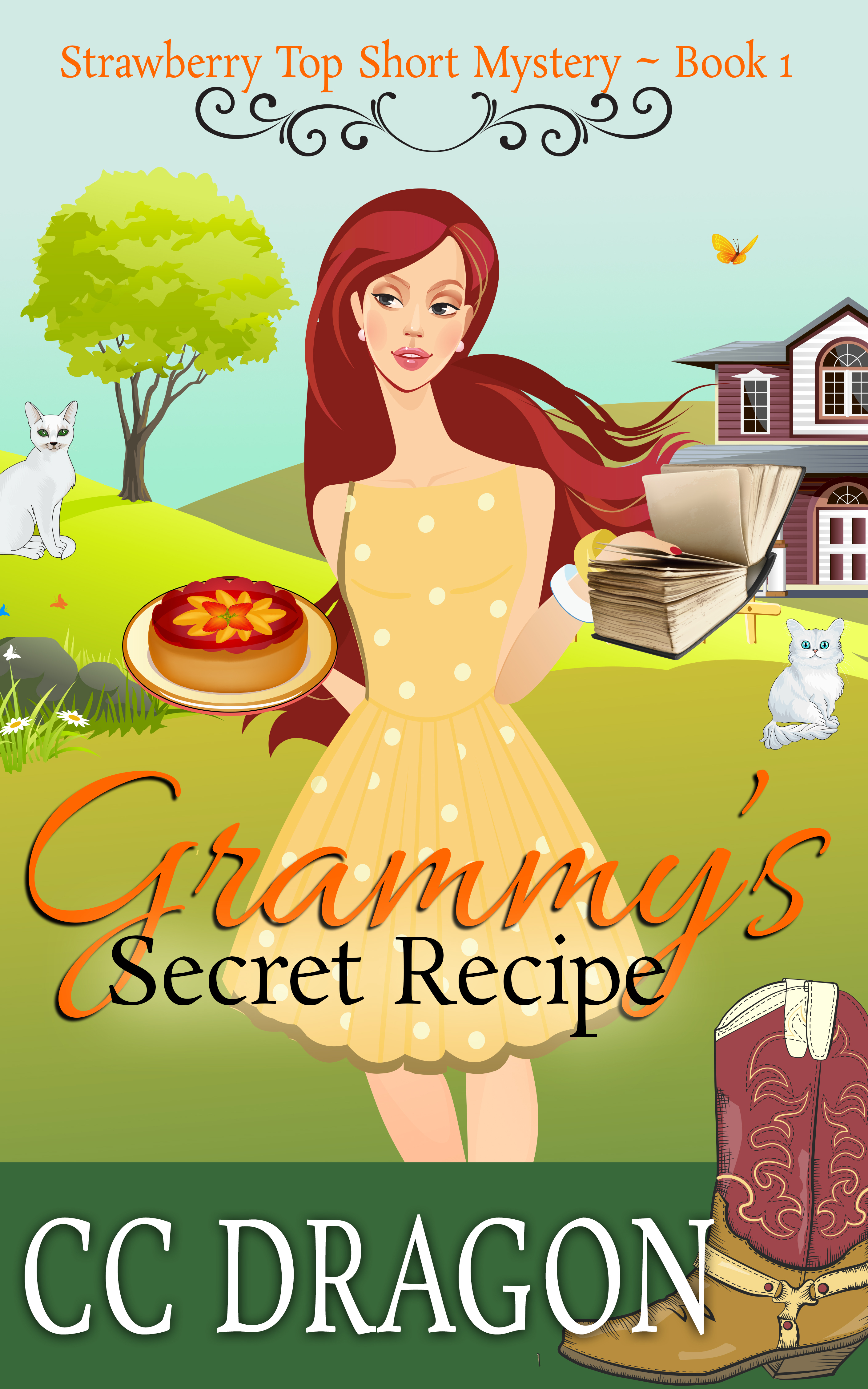Grammys Secret Recipe (Strawberry Top Short Mystery 1)  by  C.C. Dragon