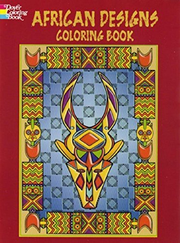 African Designs Coloring Book Marty Noble