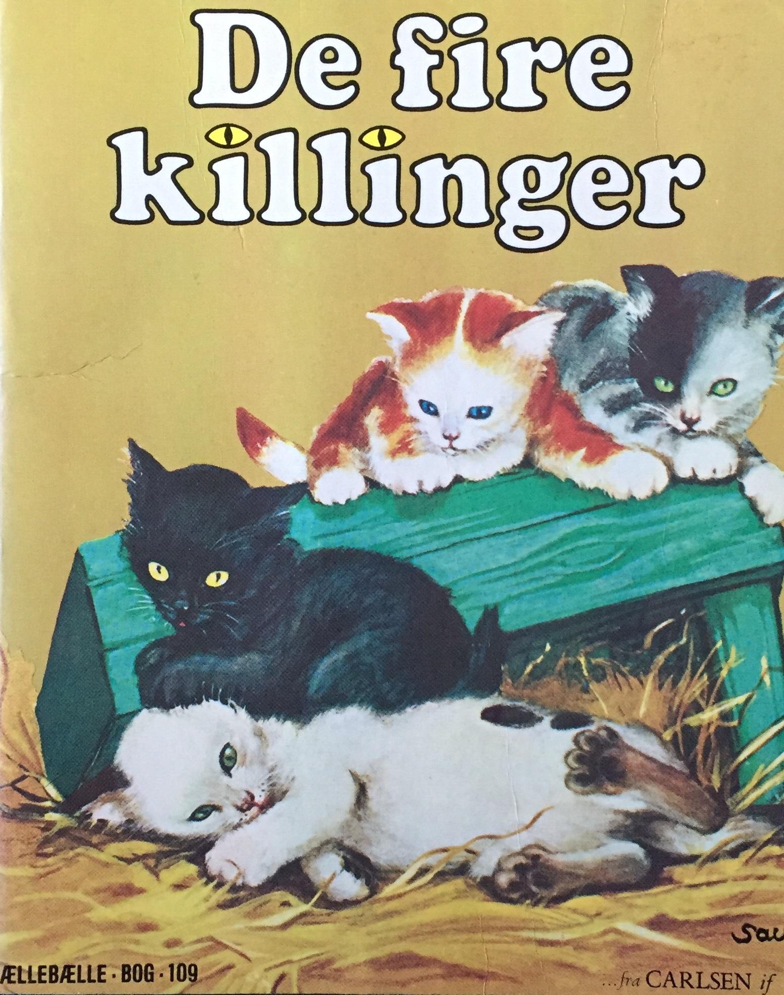 De fire killinger  by  Kathleen N. Daly