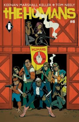 The Humans #8  by  Keenan Marshall Keller