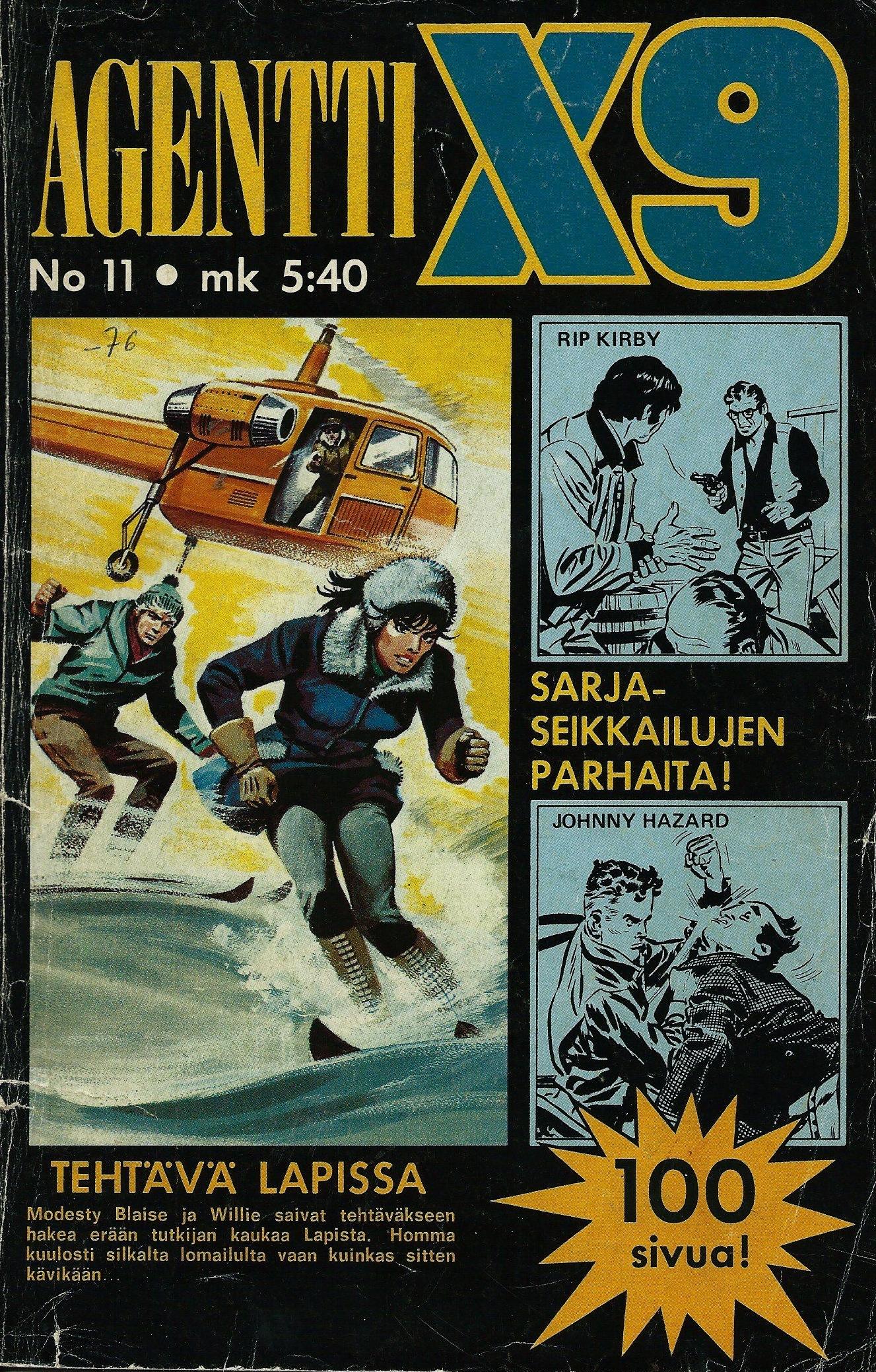 Agentti X9, #11/1976 Peter ODonnell