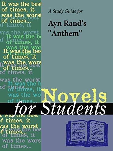 A Study Guide for Ayn Rands Anthem (Novels for Students)  by  The Gale Group