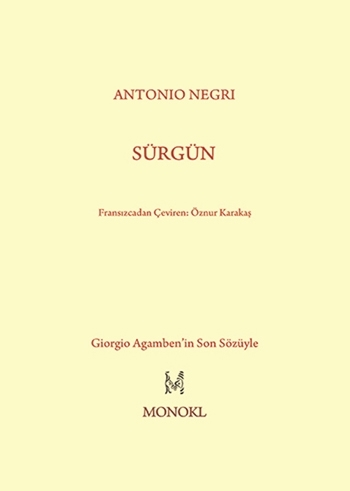 sürgün Antonio Negri