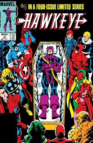 Hawkeye (1983) #4 (of 4)  by  Mark Gruenwald