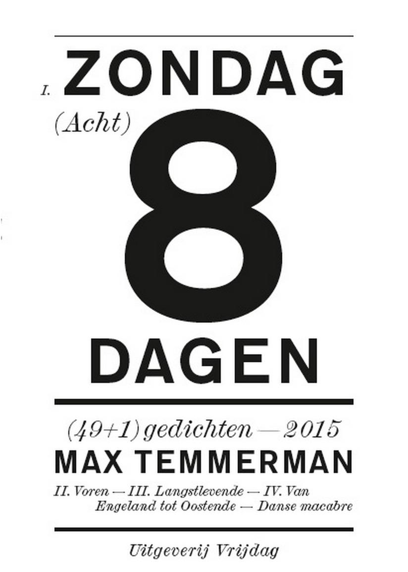 Zondag acht dagen Max Temmerman