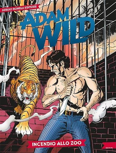 Adam Wild n. 14: Incendio allo zoo  by  Gianfranco Manfredi