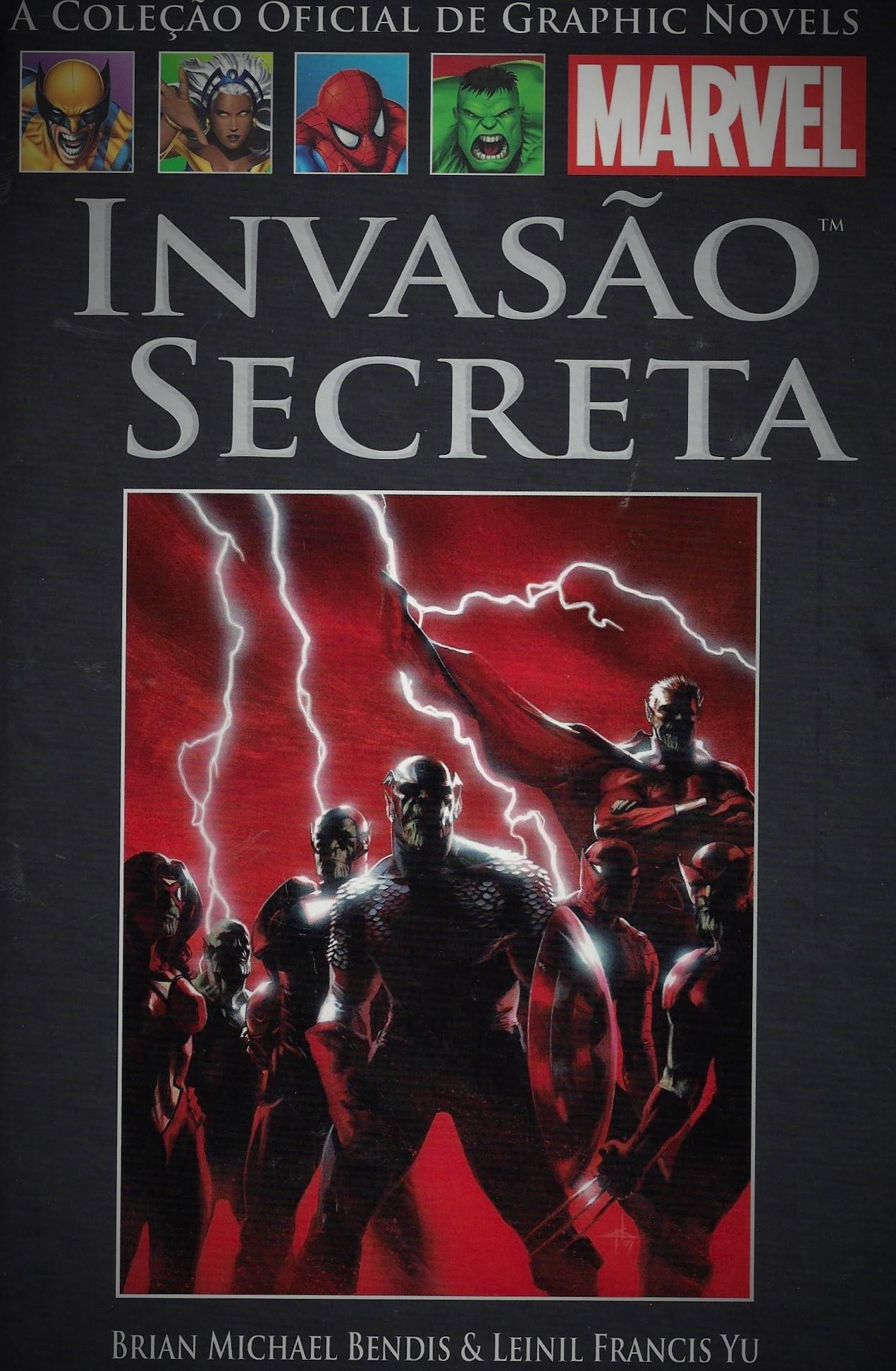 Invasão Secreta (A Coleção Oficial de Graphic Novels da Marvel, #55)  by  Brian Michael Bendis