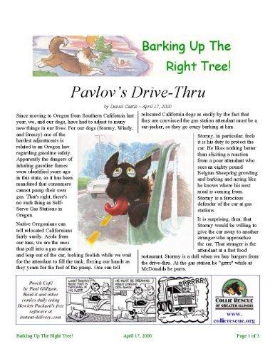 Pavlovs Drive-Thru (Barking Up The Right Tree! Book 20000417)  by  Daniel Castle
