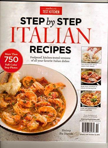 Americas Test Kitchen Step By Step Italian Recipes w