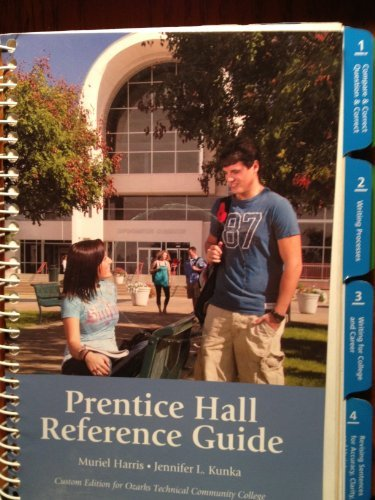Prentice Hall Reference Guide Custom Edition for Ozarks Technical Community College Muriel Harris