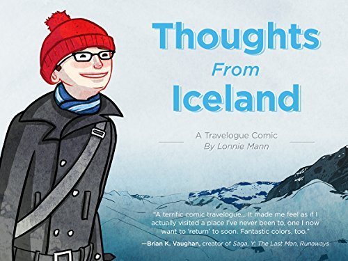 Thoughts From Iceland: A Travelogue Comic  by  Lonnie Mann