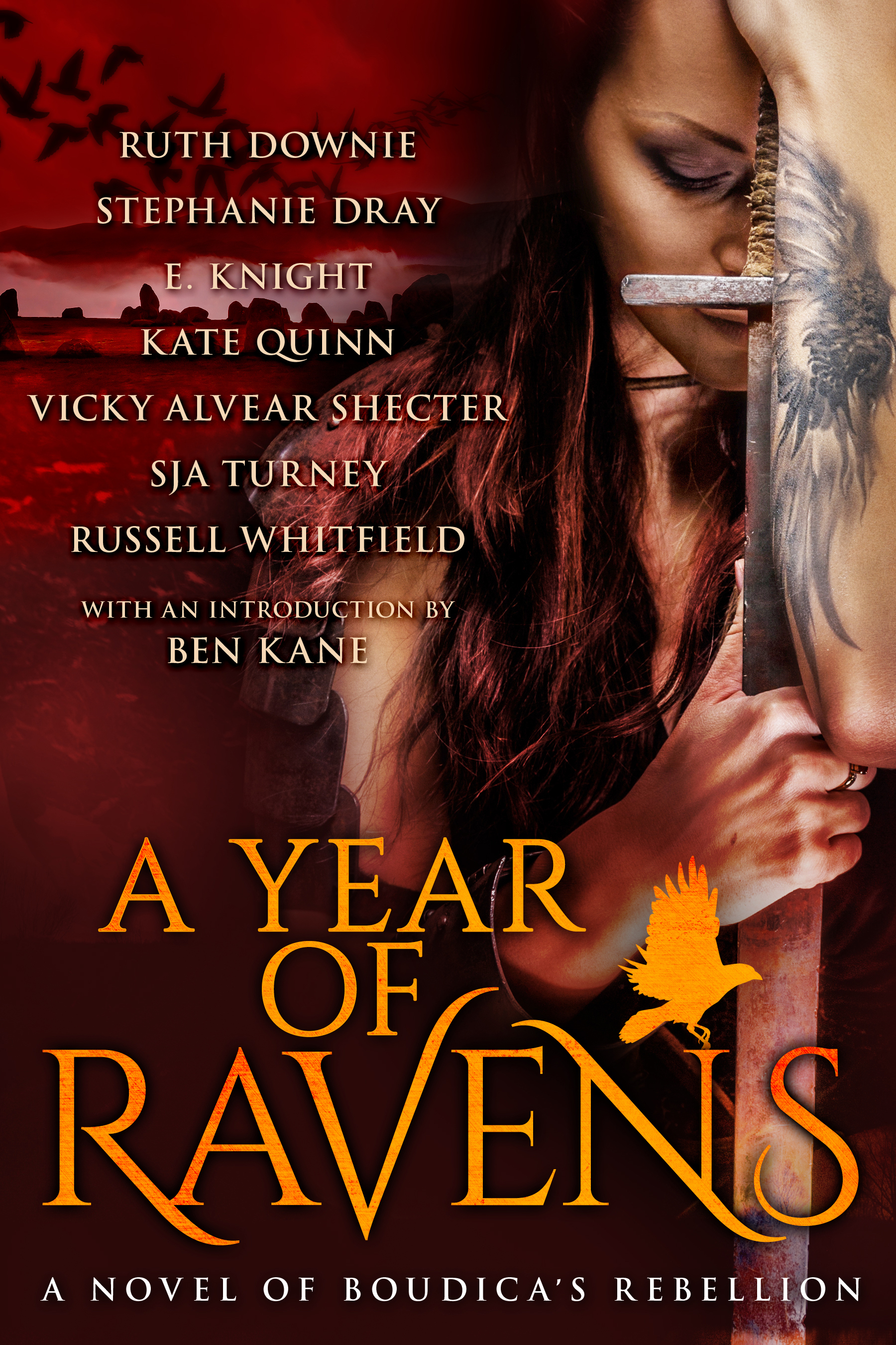 A Year of Ravens: A Novel of Boudica  by  Ruth Downie