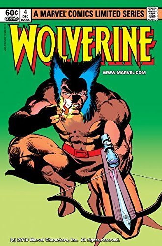 Wolverine (1982) #4 (of 4)  by  Chris Claremont