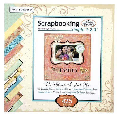 Wendy Bentleys Simple 1-2-3 Scrapbooking Kit  by  Ltd. Editors of Publications International