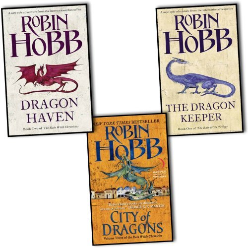 Robin Hobb Trilogy 3 Books Set Pack The Rain Wild Chronicles Collection Robin Hobb