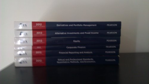 2012 CFA Level 2: CFA Institute Program Curriculum Volumes 1-6  by  CFA Institute