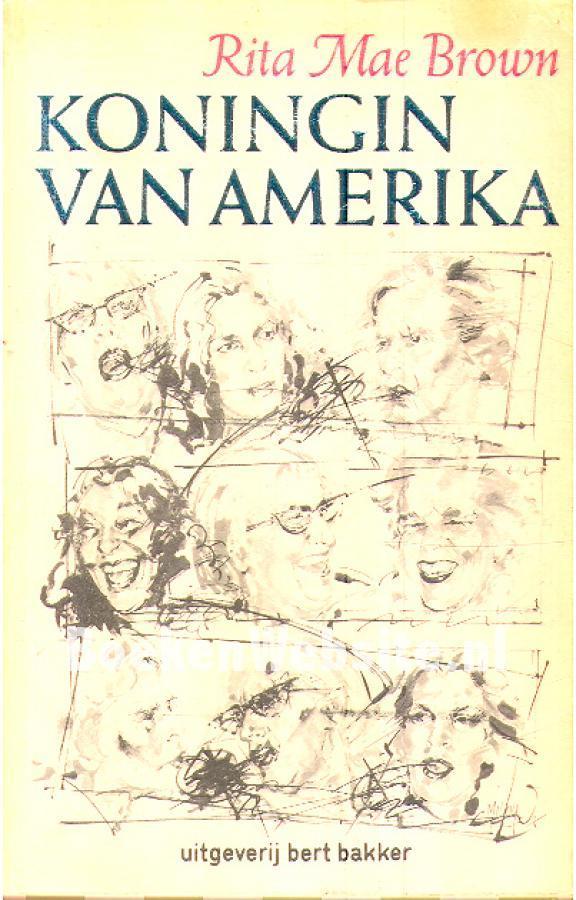 Koningin van Amerika  by  Rita Mae Brown