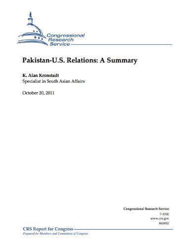 Pakistan-U.S. Relations: A Summary K. Alan Kronstadt