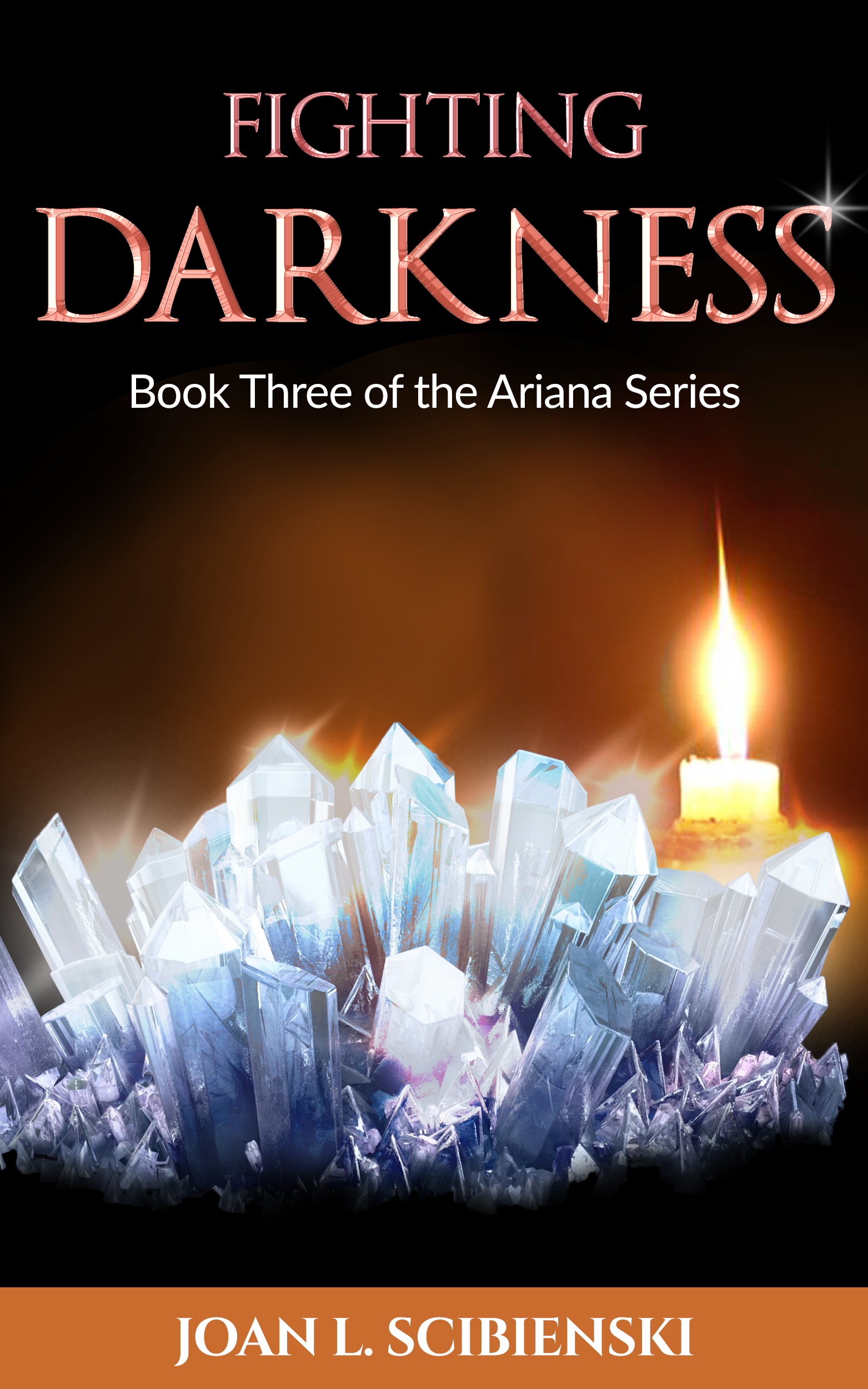 Fighting Darkness, Book 3 of The Ariana Series  by  Joan L. Scibienski
