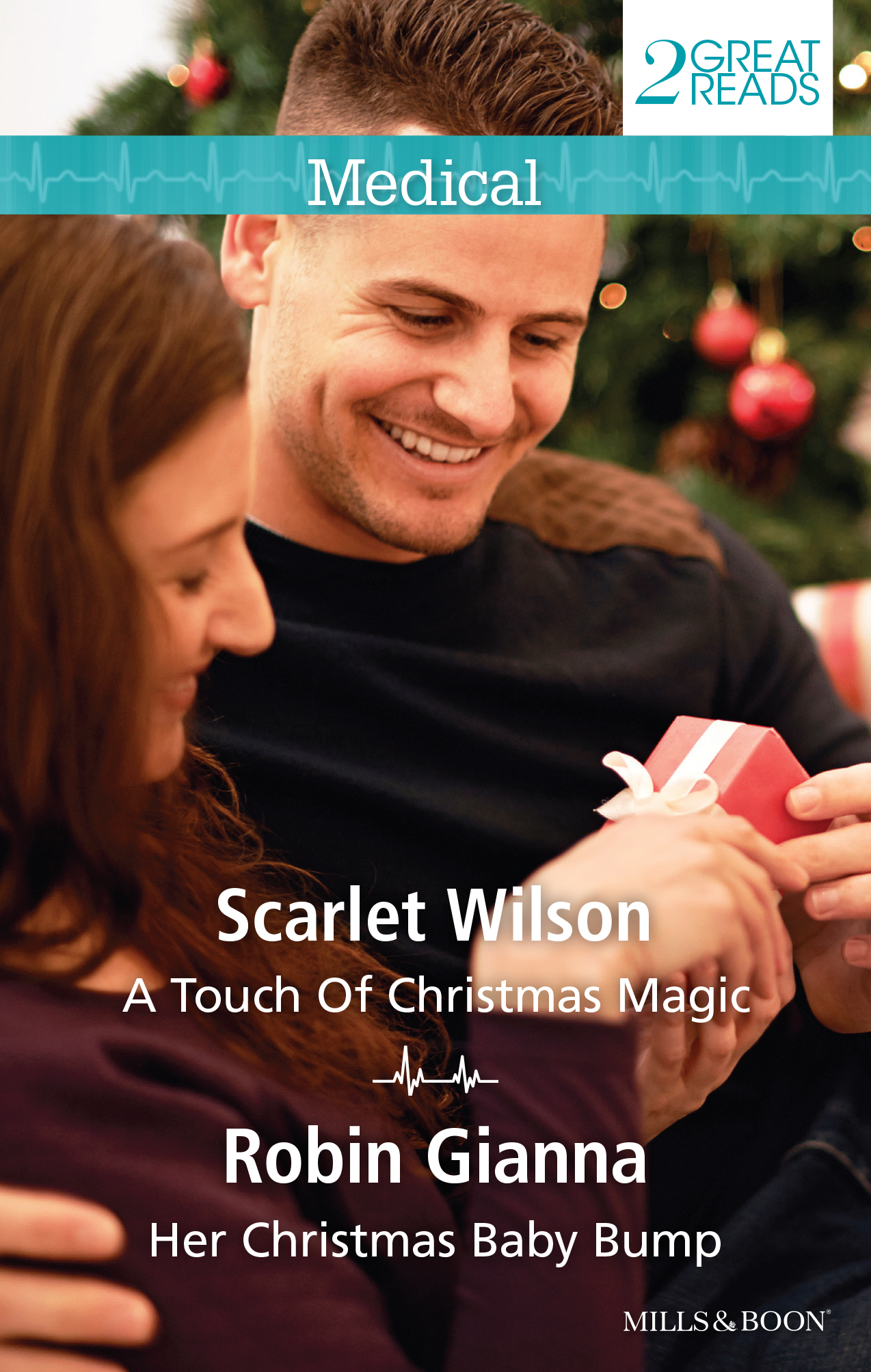 A Touch of Christmas Magic / Her Christmas Baby Bump  by  Scarlet Wilson