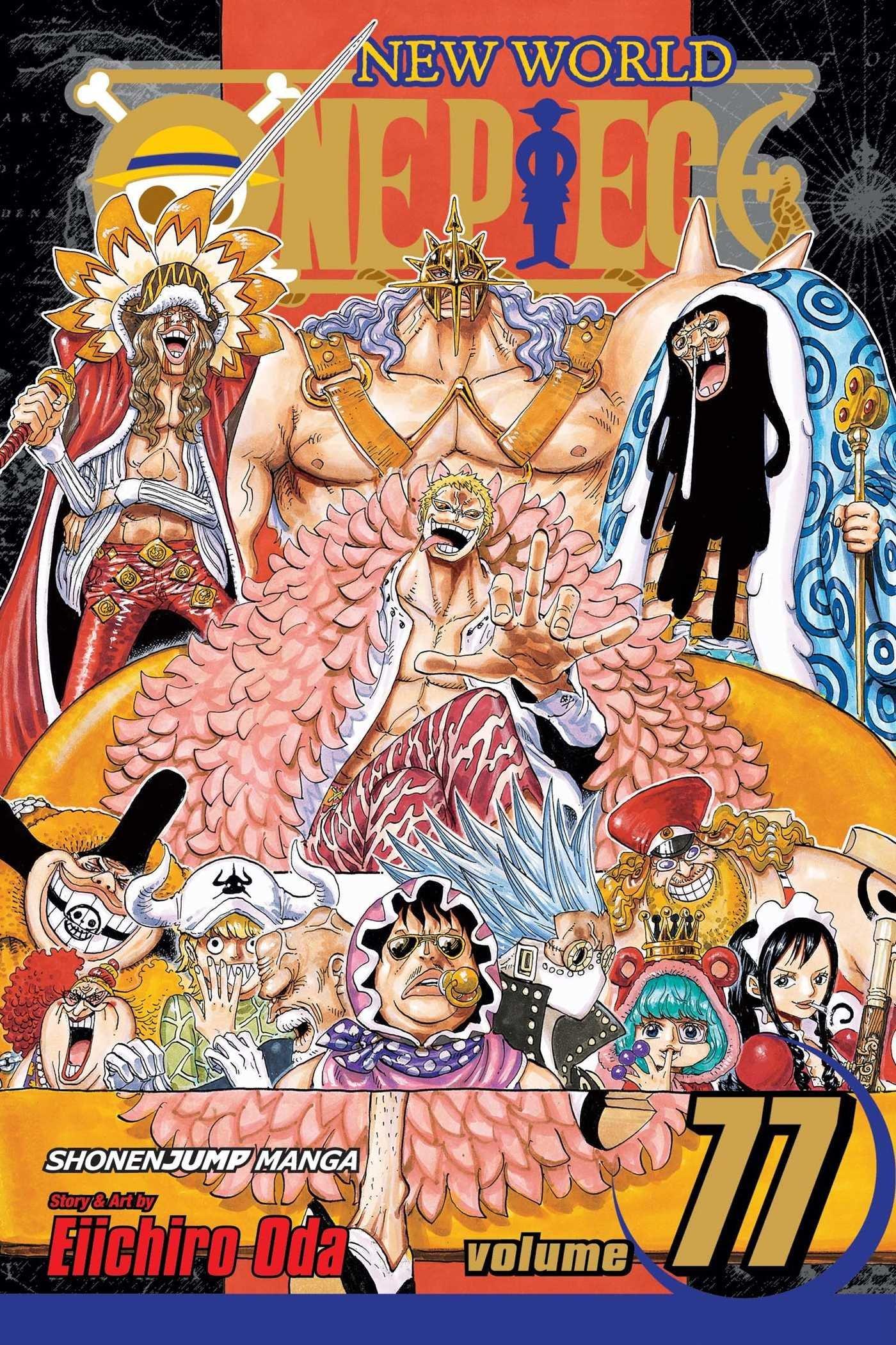 One Piece, Vol. 77 (One Piece, #77) Eiichiro Oda