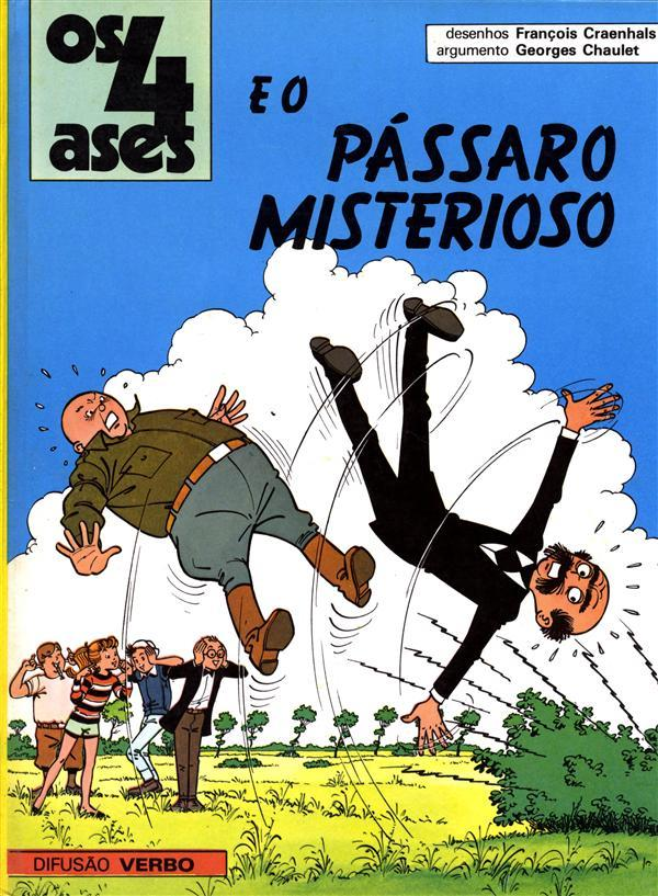 Os 4 Ases e o pássaro Misterioso (Os 4 Ases, #6)  by  Georges Chaulet