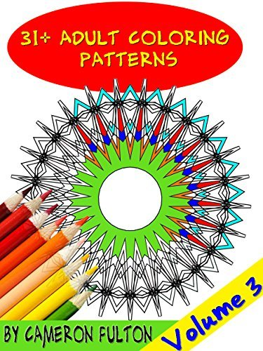 31+ Adult Coloring Book - Mandala Designs, Art therapy Cameron Fulton
