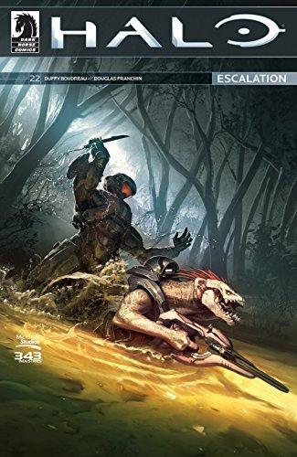 Halo: Escalation #22  by  Duffy Boudreau